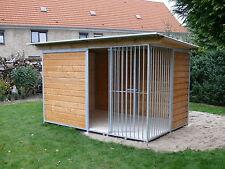 Hundezwinger 2x3 m Stahlrahmen professionell Lieferung&Aufbau Bundesweit 2x3m