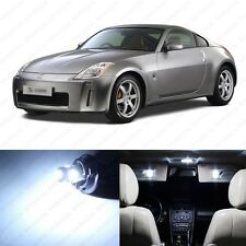 5 x Xenon White LED Interior Light Package For 2003 - 2008 Nissan 350Z