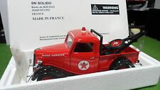 FORD TOW TRUCK Dépanneuse TEXACO 1/18 SOLIDO 9887 voiture miniature d collection