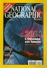 NATIONAL GEOGRAPHIC N° 16--2001 L'ODYSEE/JAPON/AUSTRALIE/PROCHE ORIENT