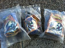 1995 Gargoyles Burger King Kids Meal Toy Stone Warriors - Set of 3 -