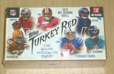 2012 Topps football sealed hobby box (pack) Turkey Red online excl Andrew Luck