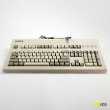 Vintage! DELL Mechanical Keyboard White AT101W GYUM90SK Black Alps Switches PS/2