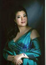 Hui He SOPRANO autograph, In-Person signed photo