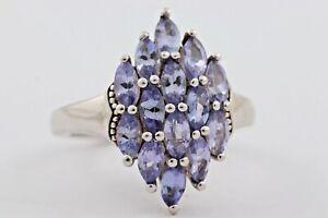 Damenring Ring Silber Stein Glas Zirkonia Größe 53 5,03gr. 925er Silber 1330