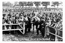pt9214 - Doncaster Racecourse , Doncaster Cup Winner Lemberg 1911 - photograph