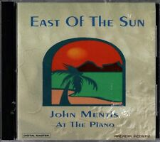 "JOHN MENTIS ""EAST OF THE SUN"" CD 1998 arcadia sealed"