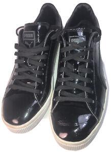 Puma Mens  Patent Leather BlackSneakers US8.5 UK7.5 EUR41