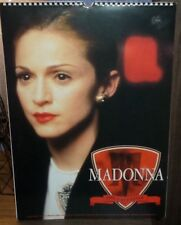 MADONNA 1996 CALENDER EVITA DON'T CRY FOR ME ARGENTINA BAD GIRL YOU'LL SEE