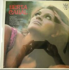 BERTA CABAL -CON EL MARIACHI REX DE RIGOBERTO ALFARO- MEXICAN LP STILL SEALED