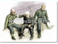 Master Box 1/35 Ticket Home - German Soldiers 1941-43 # 3552