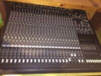 Mackie 24:8 Mixing Desk - Private Studio - Closure Forces Sale