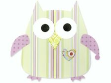 Eule Owl Herbst Eulen Uhu * Sizzix Schablone Bigz Die BIGkick BigShot Vagabond