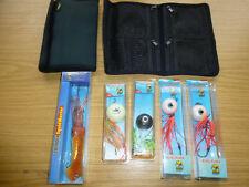 Norwegen,4 x,Kugelpilker,250 und150,Vorfachtaschen,Octopuswobbler,Meereszubehör