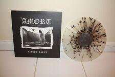Amort - Winter Tales LP - Limited to 100 Clear Splatter Vinyl - Doom Metal