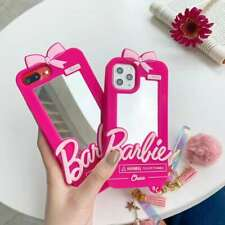 3D Barbie Mirror Phone Case For iPhone 11 Pro Max XR X SE Huawei P20 Samsung S20