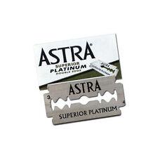 5 Pc Astra Superior Platinum Double Edge Shaving Razor Blades