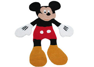 New Brand 3 x 4 Mickey Mouse Rug Kids Style Handmade Wool Rugs & Carpet