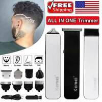 5-Star Magic Trimmer Cordless Hair Clipper Men's Shaver Fast Free Shipping Kemei