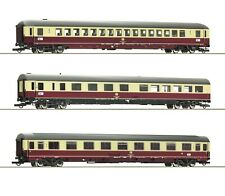 Roco HO scale Set of 3 Passenger cars of TEE 26/27 Erasmus (Set 2)  DB