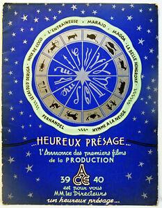 LIVRE d'OR -1939 / 40 - A.C.E. -RARE - Edition luxe - 22 pages  Cartoline