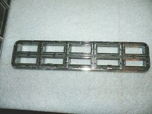 1978 CHEVROLET CAPRICE RIGHT FRONT LOWER CHROME GRILL IN BUMPER 463156 NOS GM