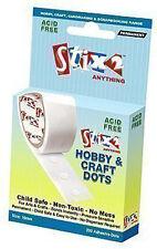Stix2 Craft Glue Dots 10mm - x200 Per Roll