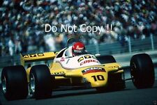 Eliseo Salazar ATS D5 Swiss Grand Prix 1982 fotografía