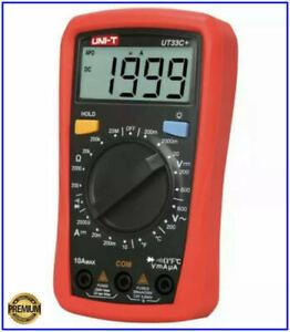Multimetro digitale capacimetro da tester professionale automatico per batterie