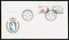 Mayfairstamps Greenland Fdc 1985 Ship Satellite First Day Cover wwk_49421