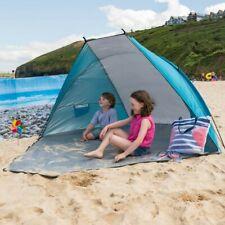 Blue Beach Tent UV Summer Sun Shelter Outdoor Festival Camping Fishing UPF50+ 57