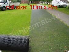 Ground Turf Protection Reinforcement Mesh 10m x 2m (20m2) FREE Delivery & Pegs