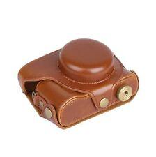 PU Leather Camera Case Bag For Panasonic LUMIX LX100, DMC-LX100 Camera