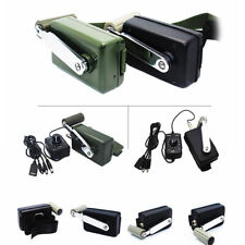30W Outdoor Emergency Phone Charger With 0-28V Dc-Dc Hand Crank Generato