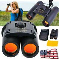 Outdoor Travel 30 x 60 Zoom Folding Day Night Vision Binoculars Telescope US LN