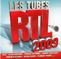 Compilation CD Les Tubes RTL 2009 - France (M/EX+)