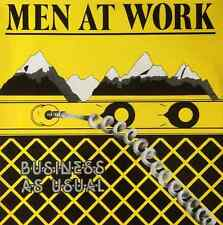 MEN AT WORK - Business As Usual (LP) (EX/EX)