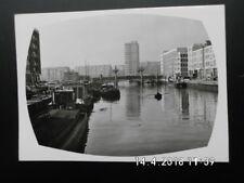 Rotterdam - Wijnhaven met gezicht - s/w Ansichtskarte Schiff Hafen - ca60erJ