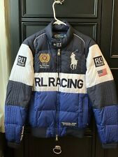 Polo Ralph Lauren 2011 RL RACING Jacket size Small S Vintage Down Flag
