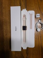 Apple Watch Series 3 - Rose Gold with Pink Sand Sport Band 38mm (GPS)