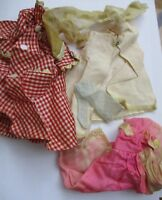 Vintage 1960s Barbie Clothing lot lingerie handmade house coat
