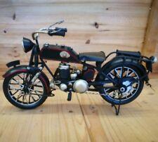 Bike Motorrad Oldtimer Blechmodell Deko Dekoration Modell NEU