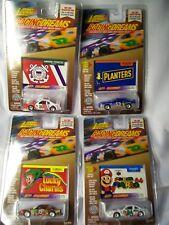 4 1998 JOHNNY LIGHTNING RACING DREAMS SUPER MARIO PLANTERS LUCKY CHARMS USCG MOC