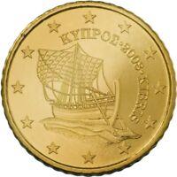 Monnaie 10 centimes cent cts euro Chypre 2019, neuves du rouleau, UNC