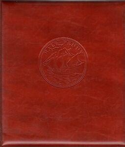 01 -CLASSEUR ENVELOPPES CARTES  FDC  AVEC 15 PAGES 1 / 2 / 3 CASES  RELIURE BRUN