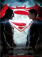 BATMAN V SUPERMAN AUBE DE LA JUSTICE Affiche Cinéma PLIEE / Movie Poster 60x40