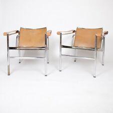 Fünfziger Authentische Le Corbusier markiert stendig LC1 Basculant Sessel Thonet Cassina