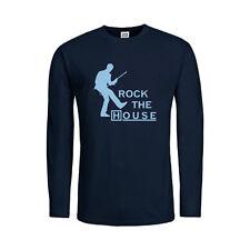 Kult Langarm Herren-T-Shirts mit Rundhals-Ausschnitt