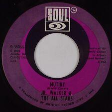 JR WALKER & HIS ALL STARS: Mutiny / Home Cookin' USA Soul 45 VG++ Superb!