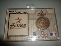 Andy Pettitte Houston Astros #21 Limited Edition Numbered Solid Bronze Coin 2004